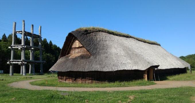青森 三内丸山遺跡 縄文時代の竪穴式住居