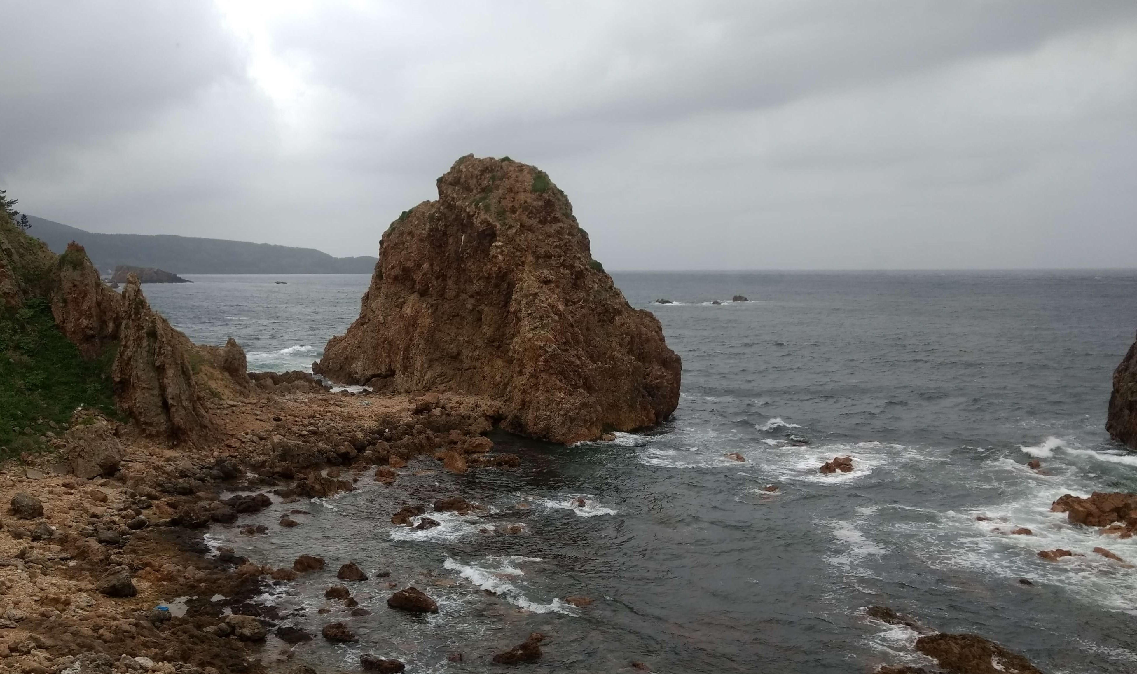 千畳敷海岸の岩