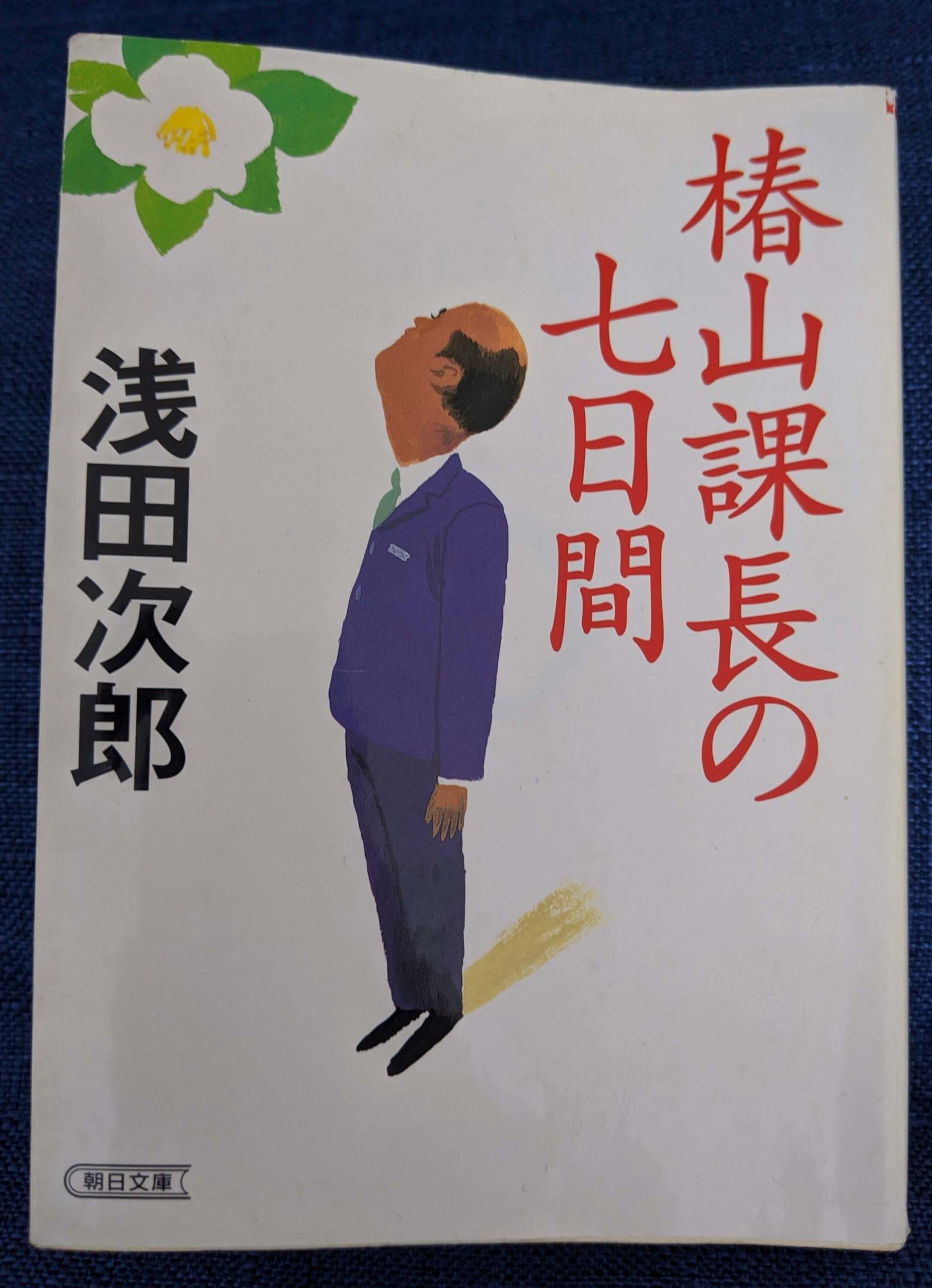 椿山課長の七日間 表紙