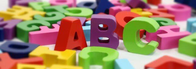 アルファベットバナー