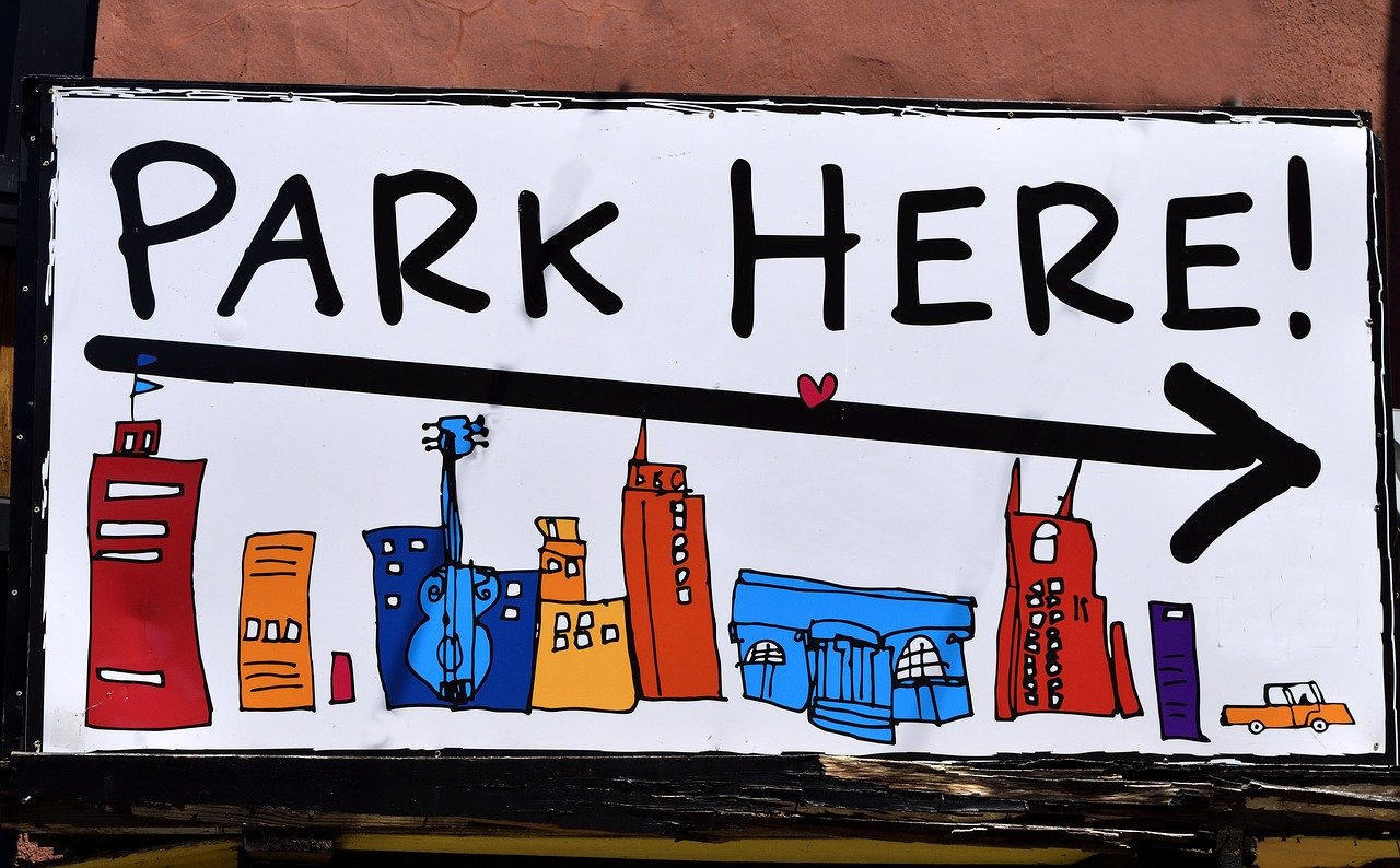 PARK HERE!
